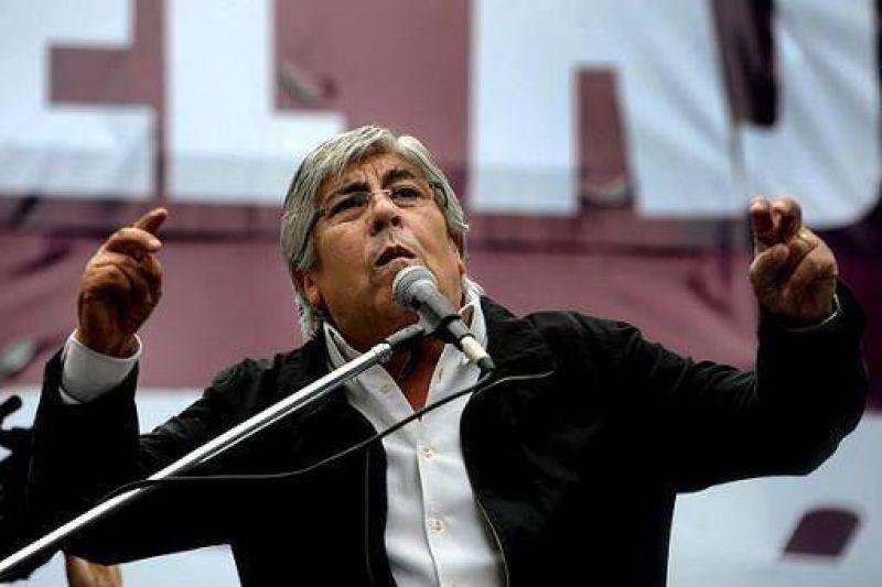"""Hugo Moyano reconoci� que """"el paro es contra la Presidenta"""""""