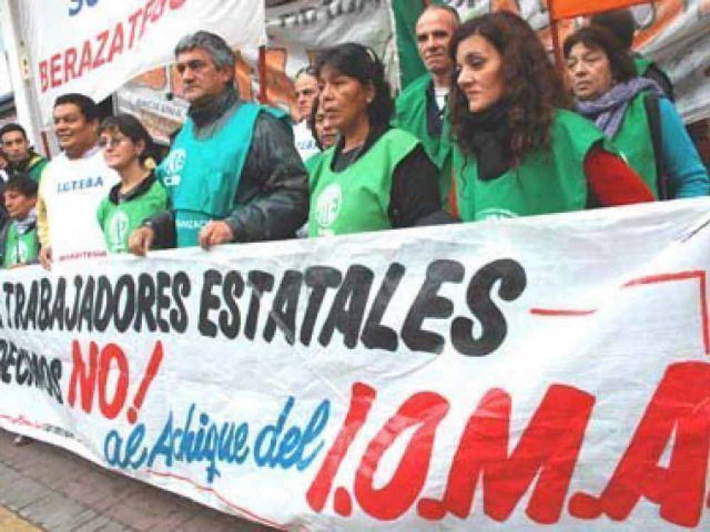 Protesta por graves falencias en IOMA