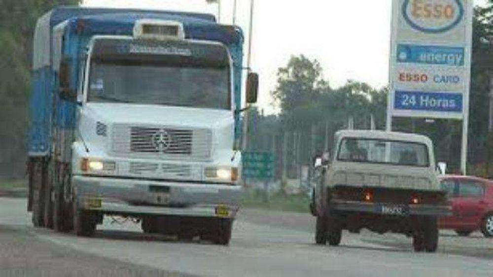 Los camioneros entrerrianos acatarán el paro nacional