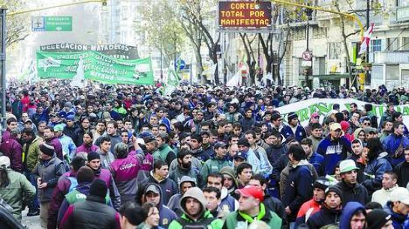 Un reclamo que logró sumar apoyo del sindicalismo oficialista