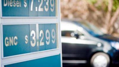 GNC registró un aumento de $1 el metro cúbico