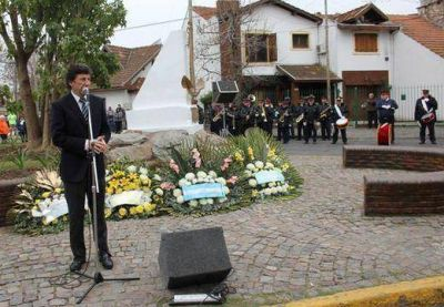 San Isidro conmemoró el Día de la Independencia nacional