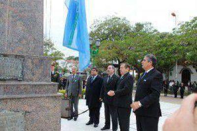 De Vido encabezó el día de la Independencia en Formosa