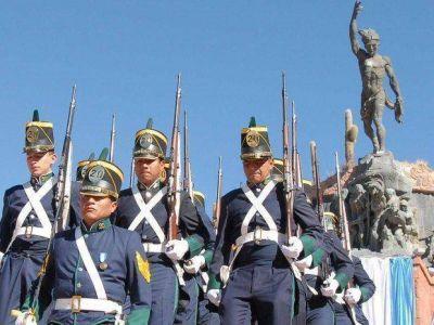 En Humahuaca se recordó a los héroes de la Independencia