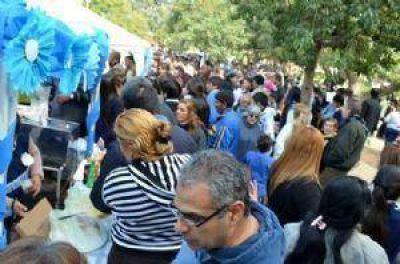 Miles de personas en las Fiestas del Tamal y la Empanada