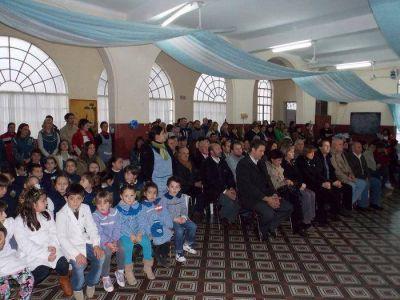 El Día de la Independencia se celebró en Saldungaray