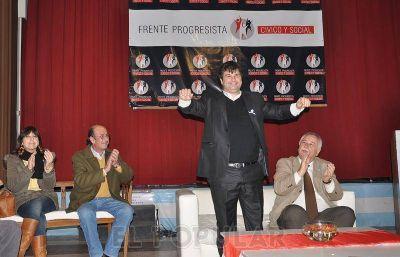 """El Frente Progresista Cívico y Social instó a """"recuperar la Provincia"""""""