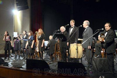 Velada estelar por la independencia argentina