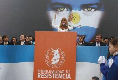 Gran convocatoria en Resistencia para los actos por el Día de la Independencia