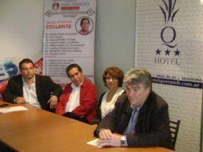 El Frente Progresista Cívico y Social de Ensenada presentó sus candidatos