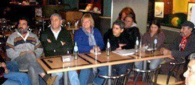 Fue presentada la lista de PODEMOS con la presencia de la Diputada Graciela Iturraspe