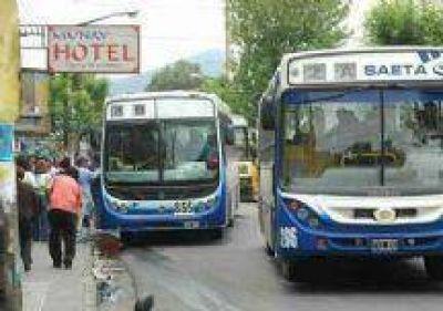 Paro de colectiveros en Salta: El viernes la línea 8 reclamará por los ataques a conductores