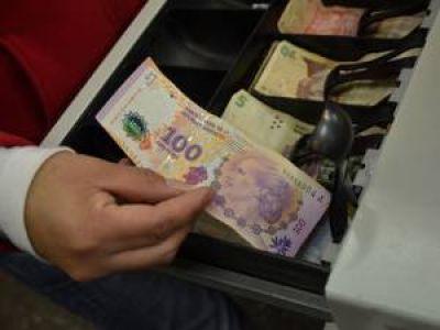 Los comercios puntanos aceptan el billete de Eva Perón