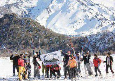 Esquiar también es cosa de chicos