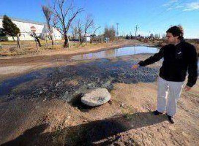Se actualizó el colapso del agua en Neuquén