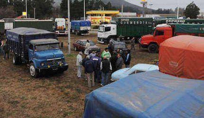 Se profundiza la protesta de los transportistas: el corte será total