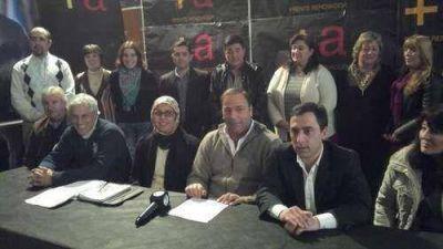 El Frente Renovador de Massa presentó a sus candidatos