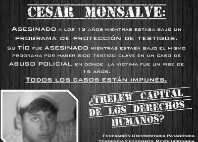 Trelew: mataron al sobrino del único testigo del caso Almonacid