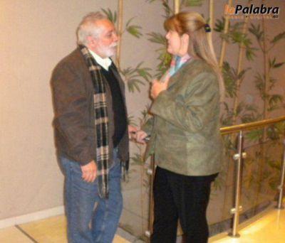 Rosemberg se reunió con Stolbizer en Bahía Blanca
