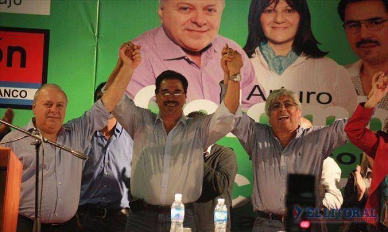 """Moyano: """"Primero está Corrientes, por eso todo mi apoyo a estos candidatos"""""""