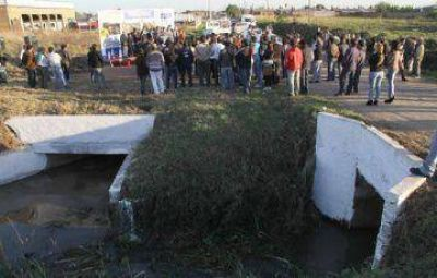 Inversión millonaria para incrementar los desagües pluviales en la capital chaqueña