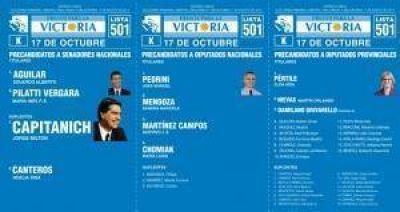 El Frente para la Victoria presenta sus candidatos en Sáenz Peña