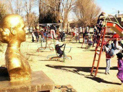 Reacondicionan parque infantil en Humahuaca