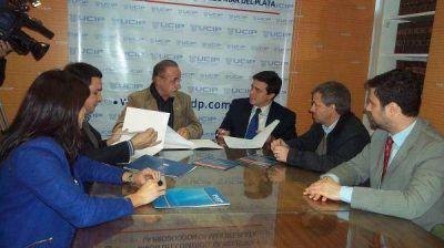 Convenio de cooperación entre la UCIP y la Universidad Atlántida Argentina