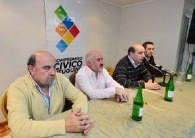Candidatos de Compromiso Cívico Neuquino iniciaron su campaña