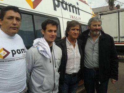 Entregaron decodificadores y tarjetas Argenta en Lan�s Este