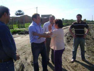 Comenzó el traslado de familias afectadas por crecidas al barrio El Porvenir