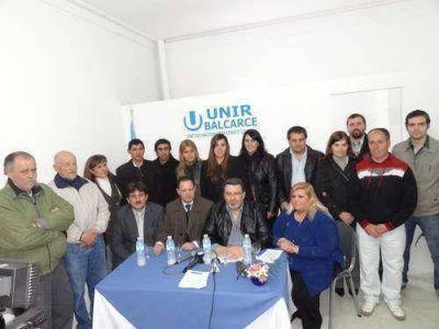Rumbo a las Primarias: UNIR presentó a sus candidatos