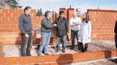 Avanza la obra del nuevo sector de internación del Hospital Municipal
