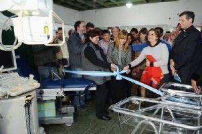 Lucía pidió colaboración a los trabajadores de la salud