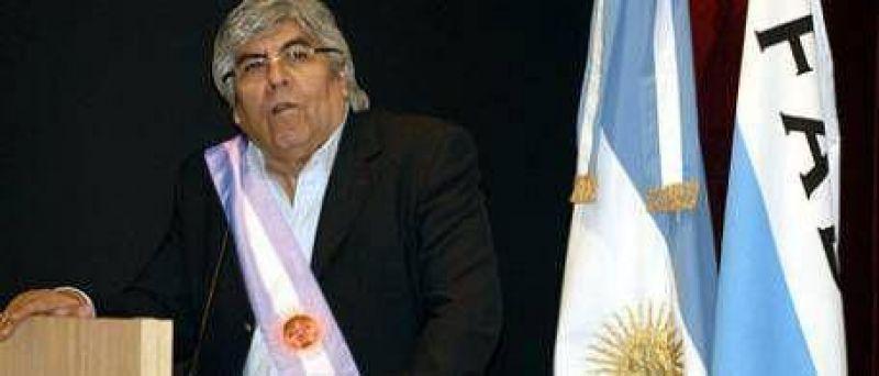 """La fe de Moyano: """"Estoy capacitado para ser presidente"""""""