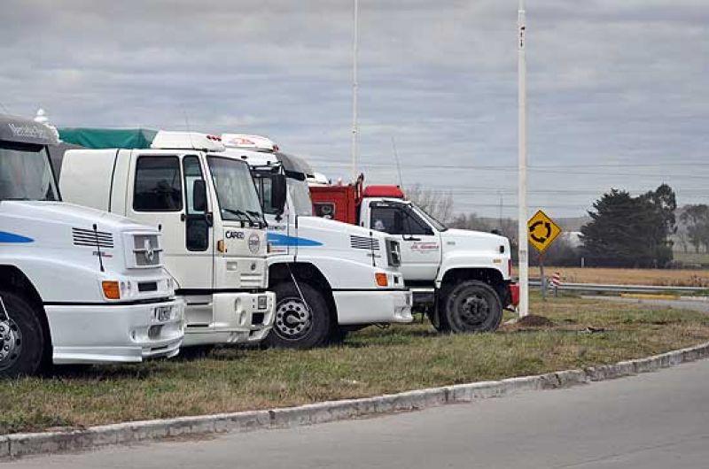 Reunión clave por el conflicto de camioneros con cerealeras