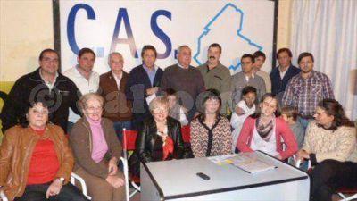 El CAS present� a sus candidatos:�Tenemos un proyecto para Salto�