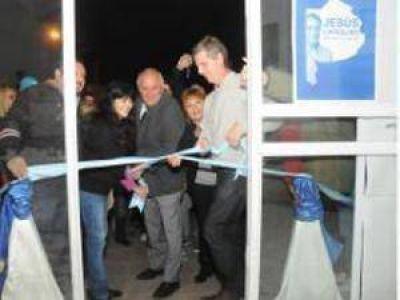 Reinauguración de Unidad Básica en Malvinas Argentinas
