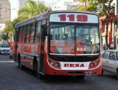 ERSA: La línea 119 ya cuenta con tickeras