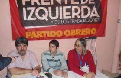 El Frente de Izquierda inauguró local y lanzó campaña
