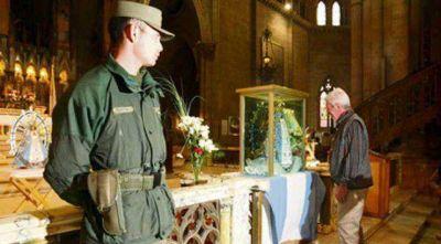 Prometen mas gendarmes para Lujan en el 2014