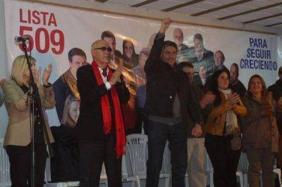 Se presentó la lista local del Frente Progresista Cívico y Social