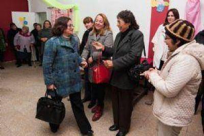 La Gobernadora inauguró refacciones en el Complejo Sipas Huasi