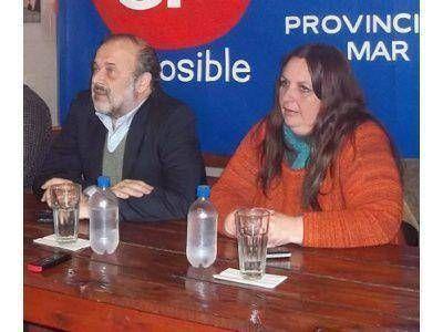 ES POSIBLE: AMADEO RESPALDÓ LA CANDIDATURA DE FABIANA LYNCH