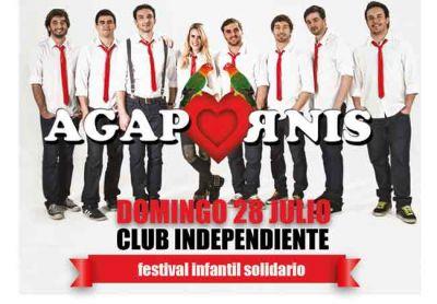 Gran festival infantil solidario con la presencia de Beto Casella y Agapornis