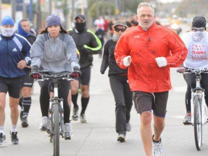 Maratón para recordar a las víctimas de un accidente