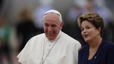 El Papa Francisco llegó a Río en su primera visita internacional