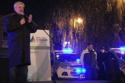 Andreotti presentó nuevos móviles de Protección Ciudadana