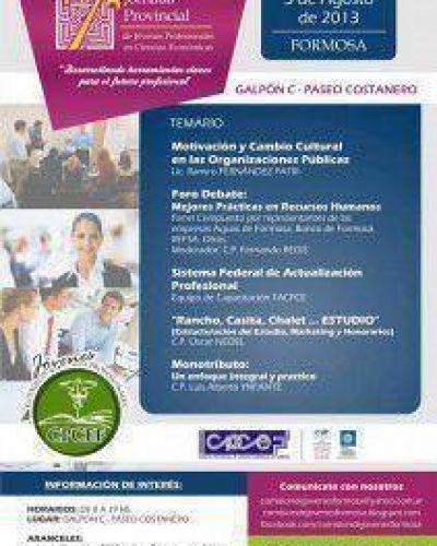 Séptima Jornada Provincial de Jóvenes Profesionales en Ciencias Económicas