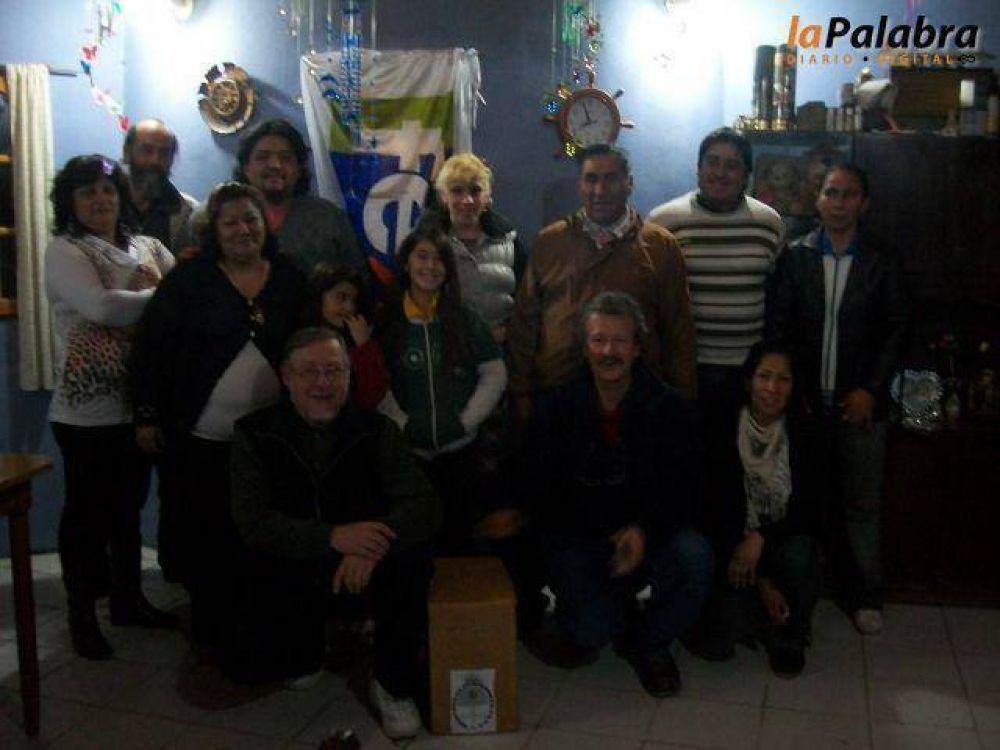 Los candidatos locales del Momo Benegas, en plena campaña